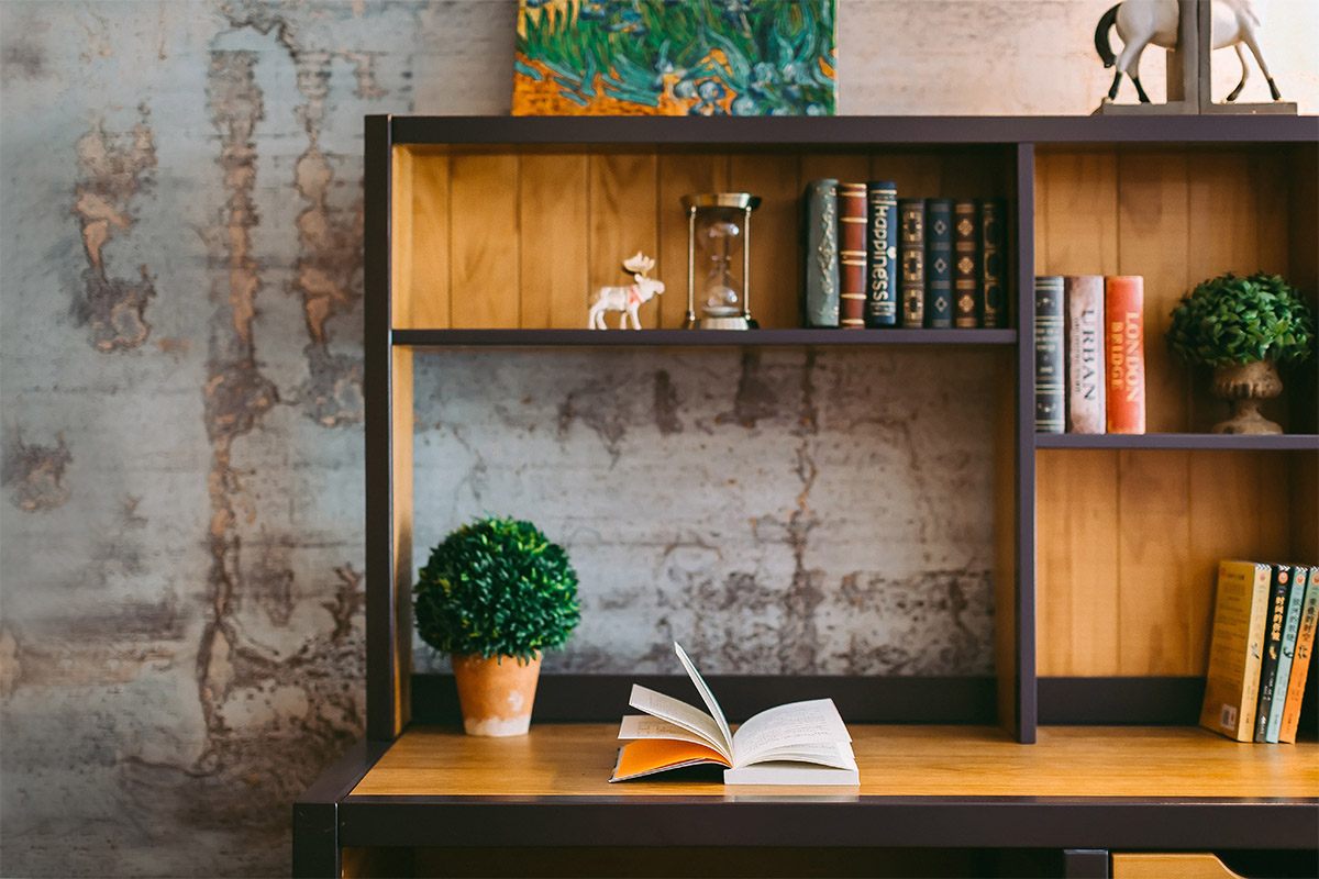 5 Ideas para Decorar tu Librero de una Manera Original