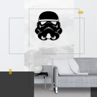 figura decorativa stormtrooper
