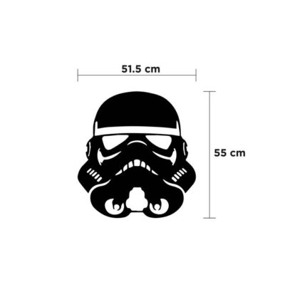 medidas figura stormtrooper