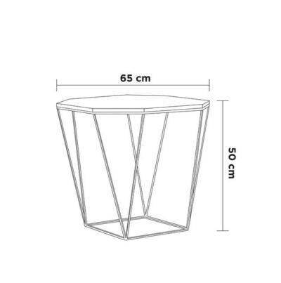 medidas mesa octagonal