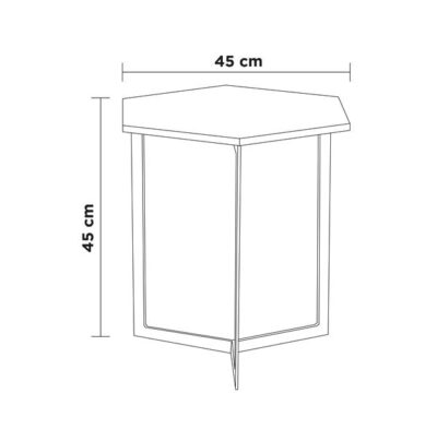 medidas mesa octagonal grande