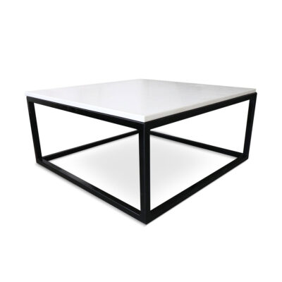 mesa de centro mármol beige mediterráneo