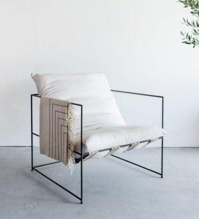 silla acero sólido