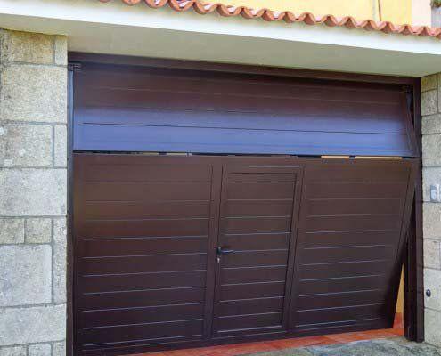 puertas metálicas basculantes