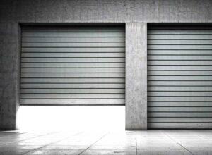 puerta metálica enrollable